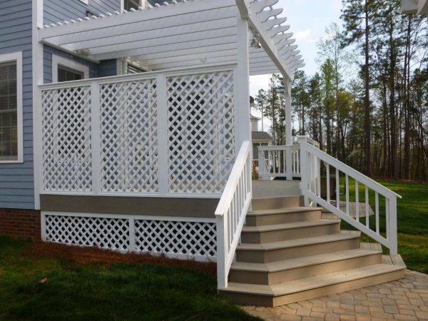 bore creative lattice ideas for your deck medium