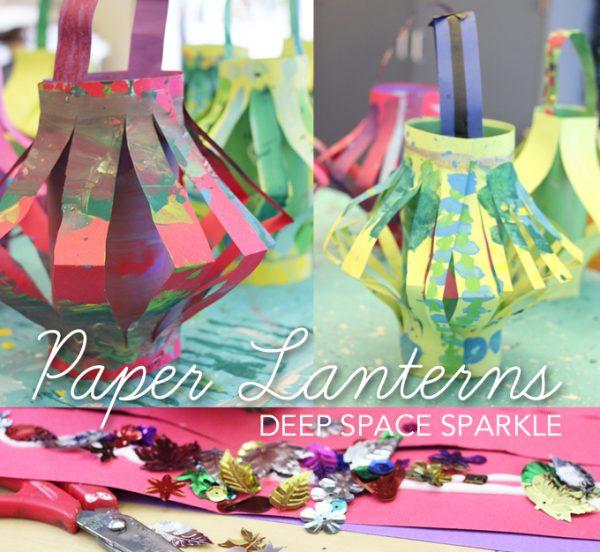 Bore How To Make A Paper Lantern Deep Space Sparkle Medium