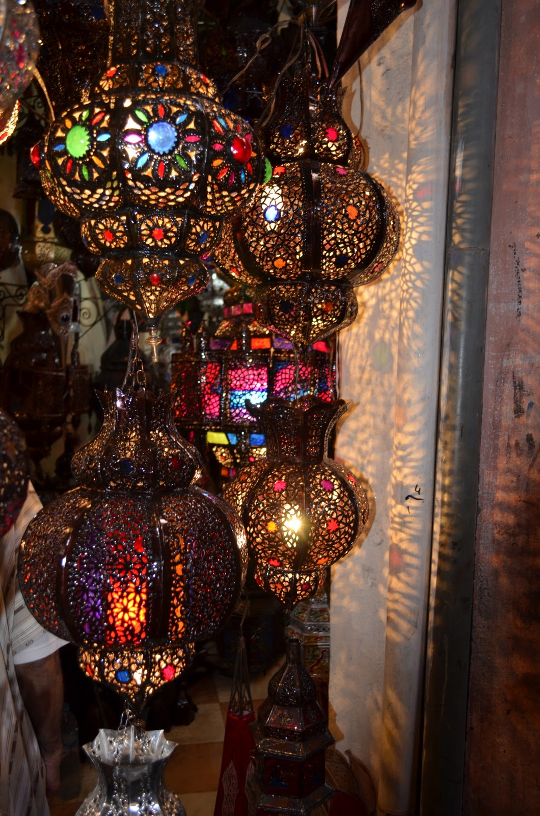 bore iced vo vos lanterns moroccan style