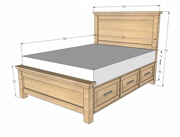 Bore King Size Headboard Dimensions And Plans Photo 33bed Medium