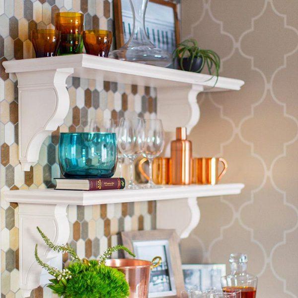 Bore Kitchen Wall Shelves Ideasbest Decor Things Medium