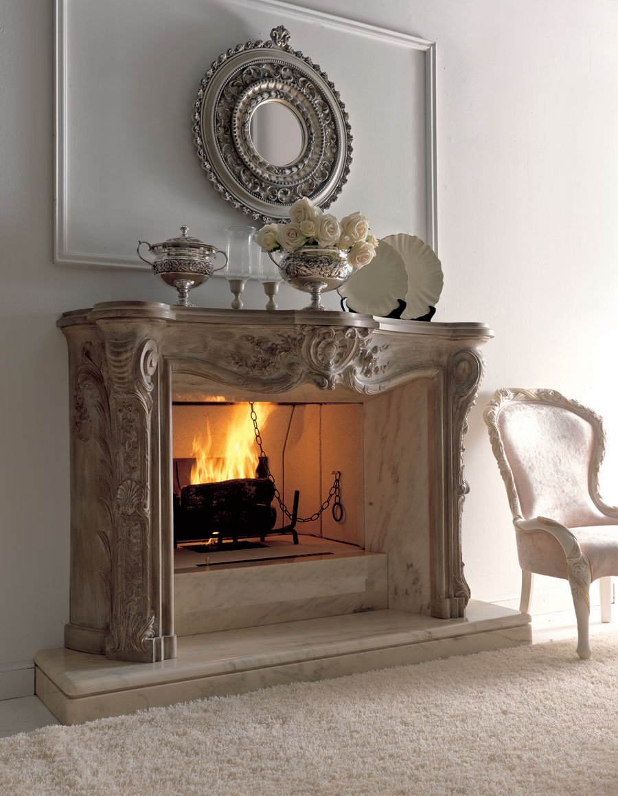 bore luxury fireplaces for classic living room by savio firmino