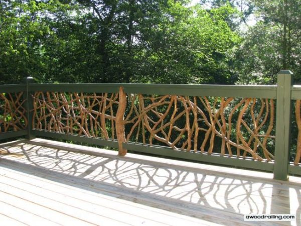 Bore Mountain Laurel Deck Railing Installed On A Deck In North Medium