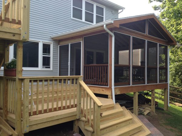 Bore Outdoor Living Structuresdayton   Cincinnati Deck Medium