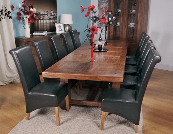 Bore Oversized Dining Room Table Benefitshome Interiors Medium