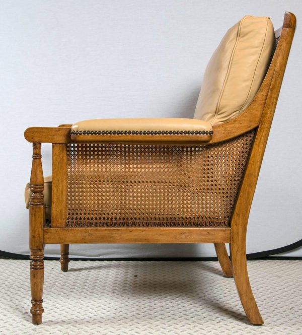 Bore Pair Of Rose Tarlow Cane Chairs At 1stdibs Medium