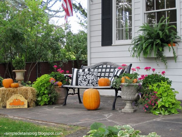 Bore Simple Details Outdoor Fall Decor Medium