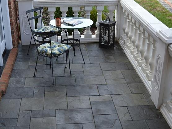 Bore Slate Patio Tiles Best Outdoor Flooringflooring Ideas Medium