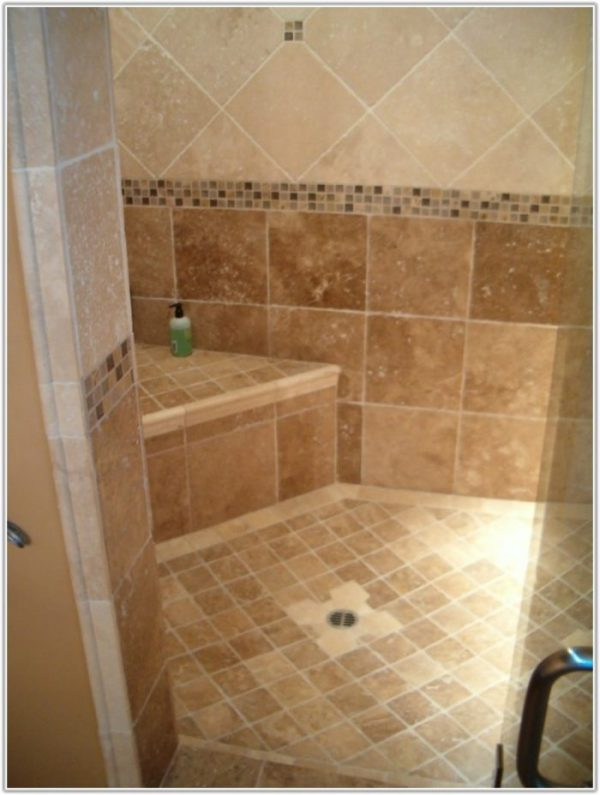 Bore Small Bathroom Large Floor Tile Tileshome Decorating Medium
