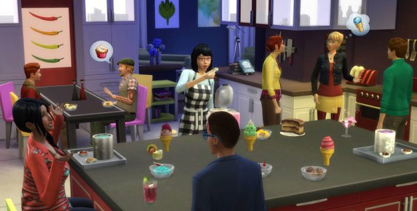 Bore The Sims 4 Cool Kitchen Stuff Pack Sims Online Medium