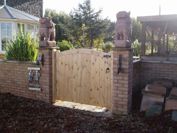 Bore Trendy Ideas Of Outdoor Wood Gates Designs Exterior Medium