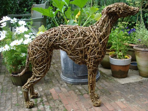 Bore Willow Domestic Animal Sculpture By  Sculptor Emma Walker Medium
