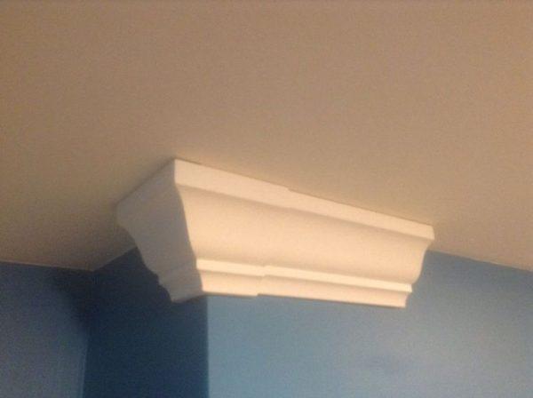 Box Of 4 Outside Corner Crown Molding Blocks Fits 35 8 Medium