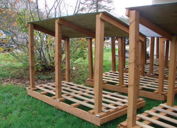 Browse 10 Wood Shed Plans To Keep Firewood Drythe Self Medium