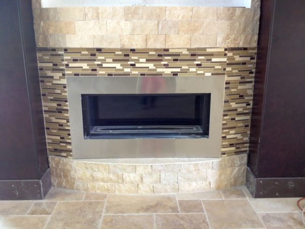 Browse 20 Elegant Modern Fireplace Designs With Glass Medium