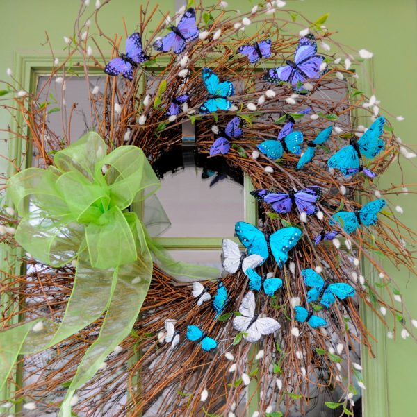 Browse 22 Enlivening Handmade Spring Wreath Designs Style Medium