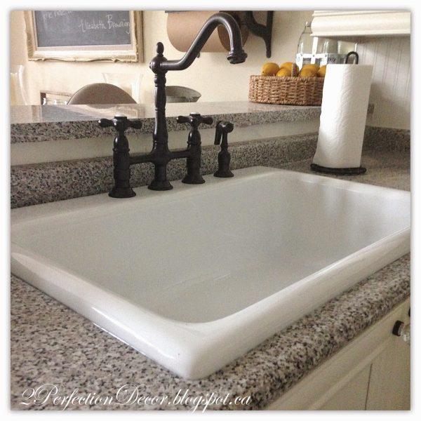 Browse 2perfection Decor New Farmhouse Kitchen Sink   Faucet Medium