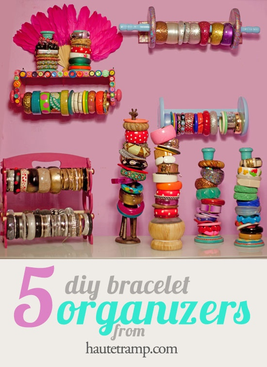 Browse 5 Easy Diy Bracelet Organizer Ideasbangle It Up Haute Tramp Medium
