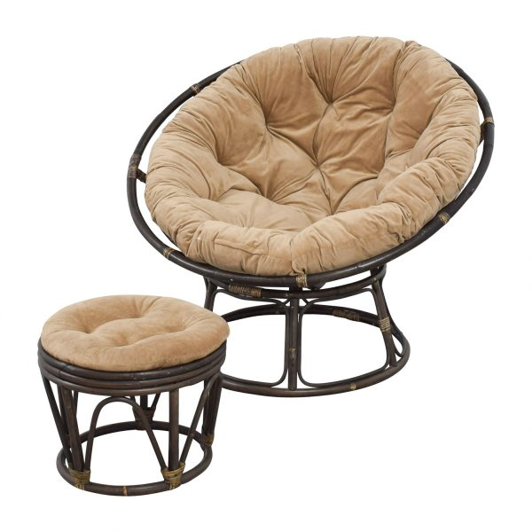 Browse 63  Off Pier 1 Imports Pier 1 Imports Papasan Brown Medium