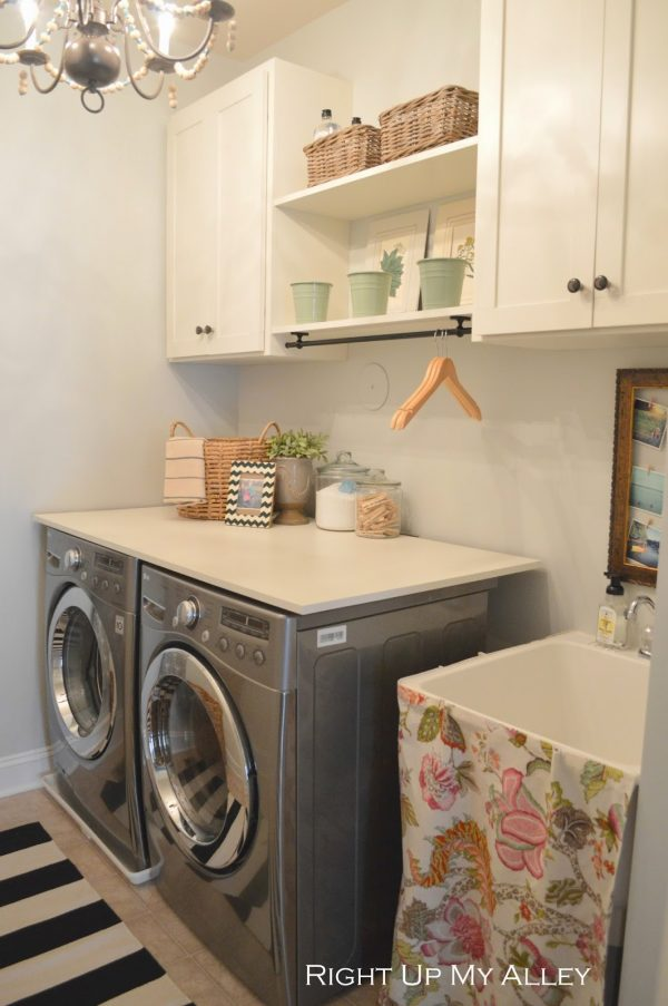 Browse Beautifully Organized Small Laundry Roomsthe Happy Housie Medium
