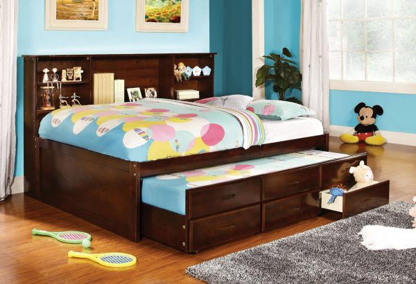Browse Bedroom Interesting Full Size Captains Bed Decor With Medium
