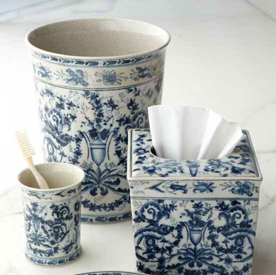 Browse Blue And White Bathroom Accessorieskvrivercom Medium