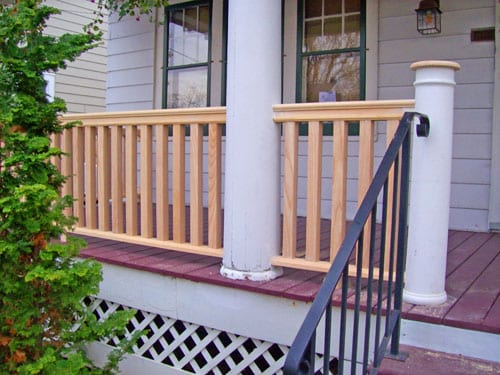 Browse  Custom Railing Square Balusters In Albany Ny Medium