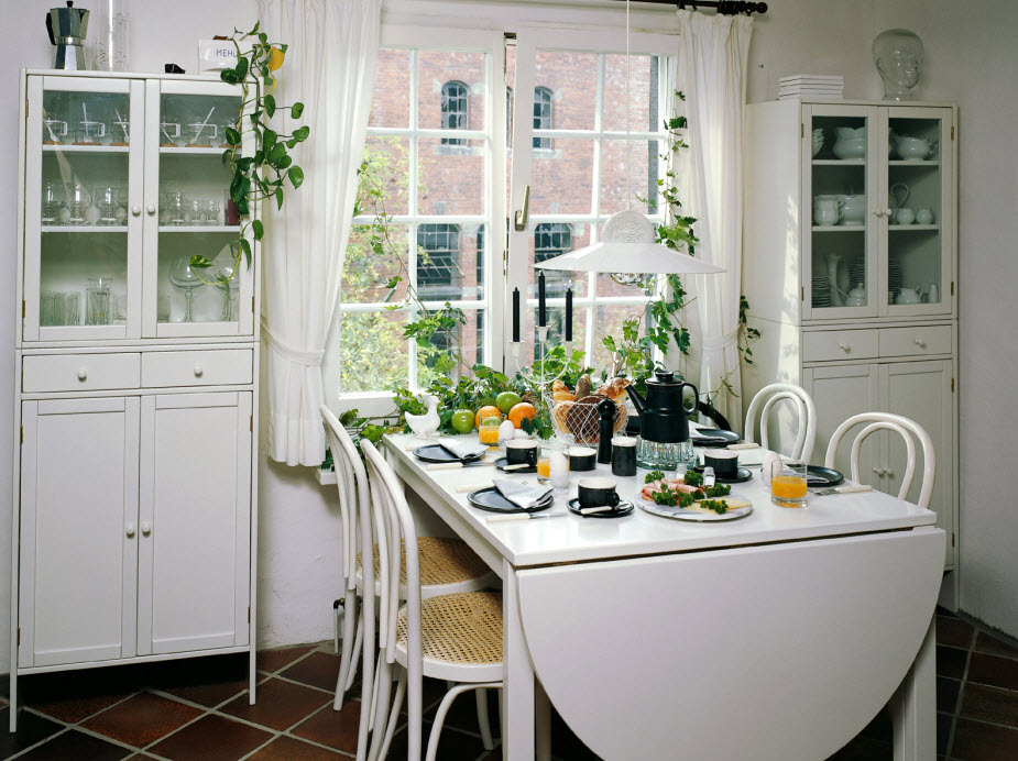 browse cute and small dining spaces
