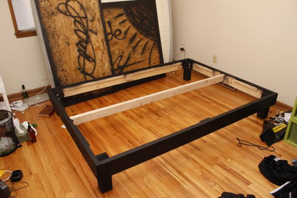 Browse Diy Queen Size Platform Bedprojects And Diy Medium