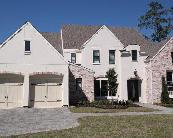 Browse Excellent Faux Stucco Siding Combined With Textured Medium