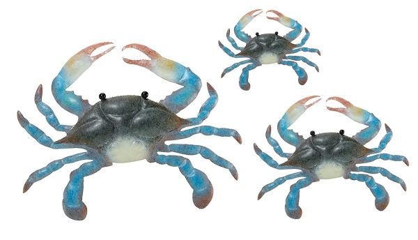 Browse Home Art And Gift Blue Crab Wall Decor Set Of 3ebay Medium