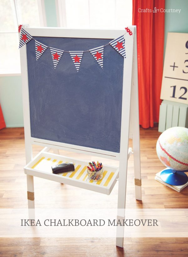 Browse Ikea Easel Makeover With Mod Podge Medium