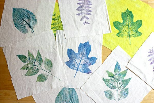 Browse Leaf Printing On Fabric  How To Make Wearable Art And More Medium