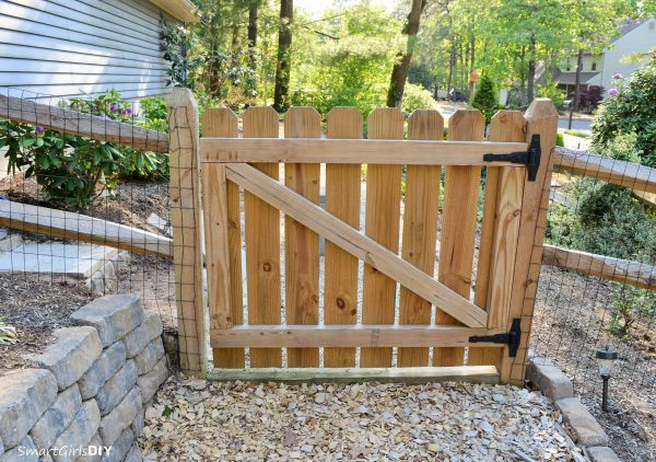 browse learn how to build a gate for your wood fence regardless medium