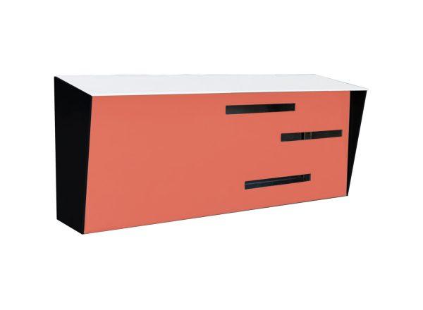 Browse Mid Century Modern Mailbox Modern Mailbox Tri Tone Medium