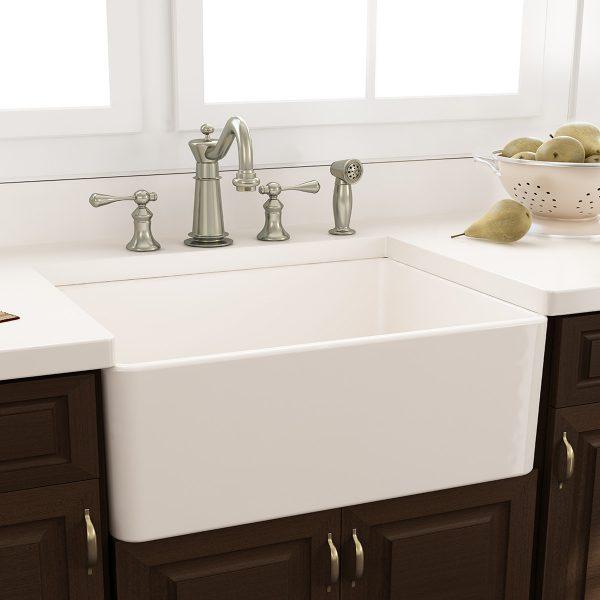 Browse Nantucket Sinks 3025 X 18 Fireclay Farmhouse Kitchen Medium