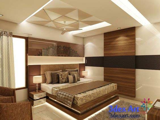 Browse New False Ceiling Designs Ideas For Bedroom 2019 With Led Medium
