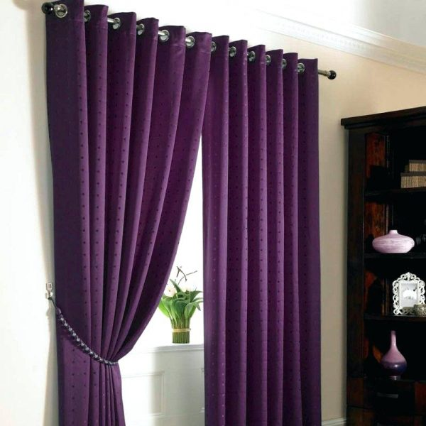 Browse Purple Curtains For Bedroom  Healthfestblog Medium