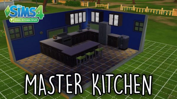 Browse The Sims 4 Room Build Master Kitchen Cool Kitchen Medium