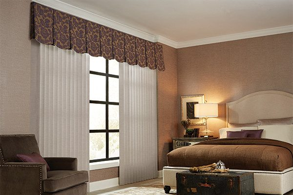 Browse Vertical Blinds Cloth Fabric Valance Graber Bedroom Medium