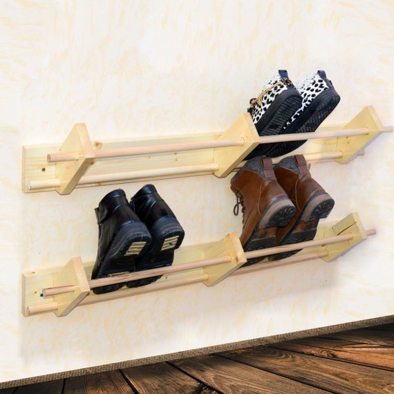 browse wall mounted wooden shoe rack hanger shoe organizer custom medium