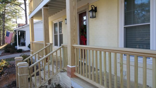 Browse Wood Porch Railing Balusters Medium