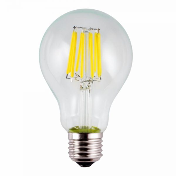 clever 100 watt equivalent dimmable a70 a21 led filament light medium
