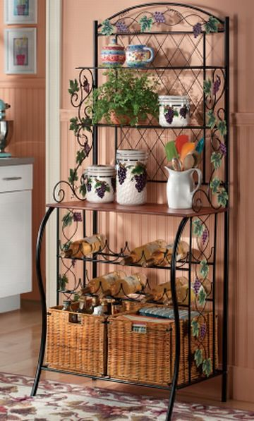 Clever 17  Best Images About Ideas For Decorating Bakers Rack On Medium
