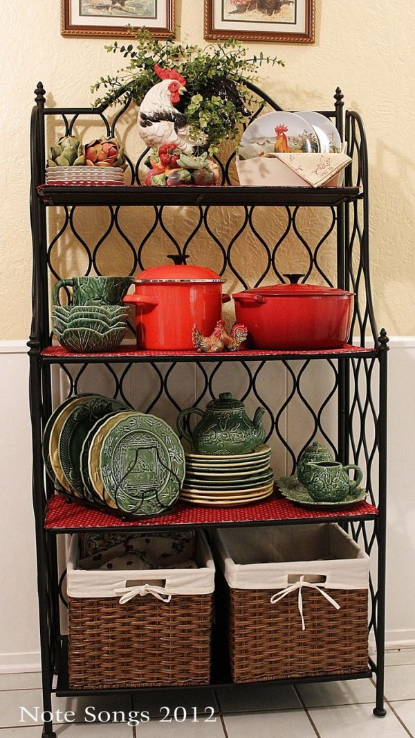 Clever 18 Curated Decorating Bakers Racks Ideas By Rickritchie Medium