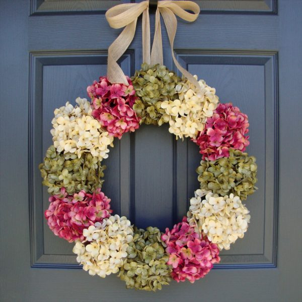Clever 22 Enlivening Handmade Spring Wreath Designs Style Medium