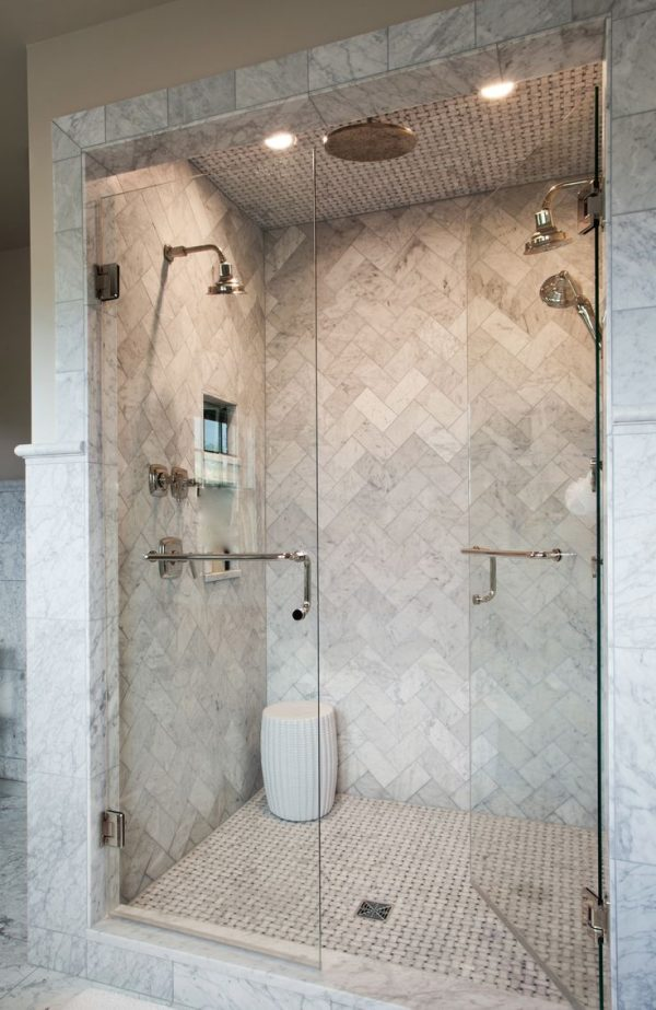 Clever 28 Best Bathroom Shower Tile Designs 2018 Interior Medium