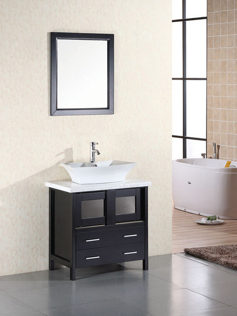 Clever 30 Elite Single Bath Vanity Dec020 Modern Bathroom Medium