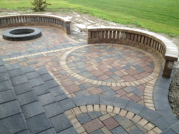 Clever 30  Vintage Patio Designs With Bricks Wisma Home Medium