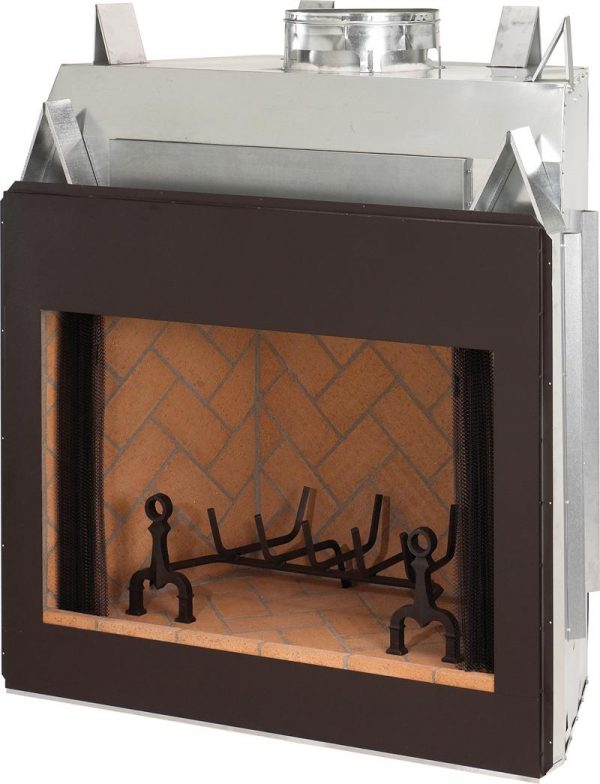 Clever 36 Superior Signature Series Masonry Indoor Wood Burning Medium